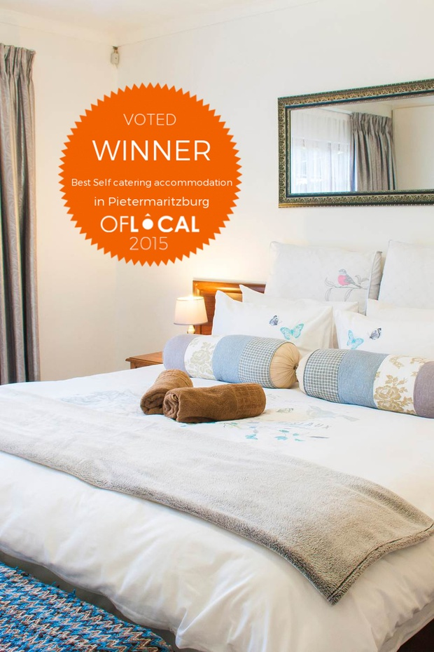 vote for us - best self catering establishment - OfLocal Pietermaritzburg